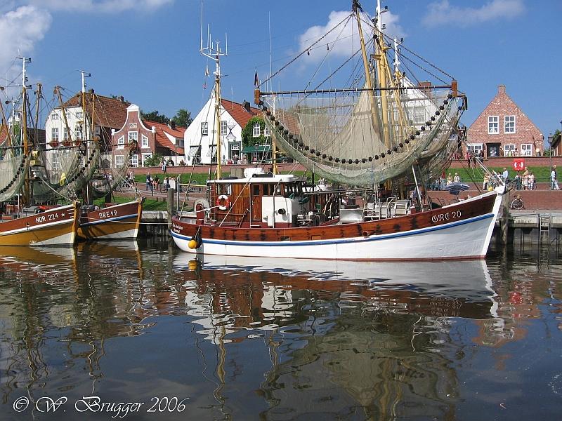 Ostfriesland: Im Hafen von Greetsiel