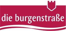 Logo der Burgenstraße / Burgenstrasse