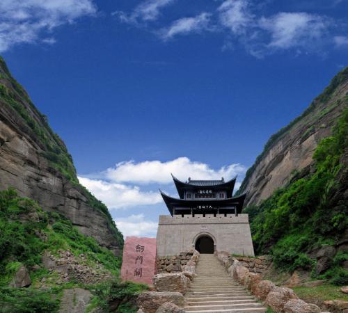 Jianmen Pass, China