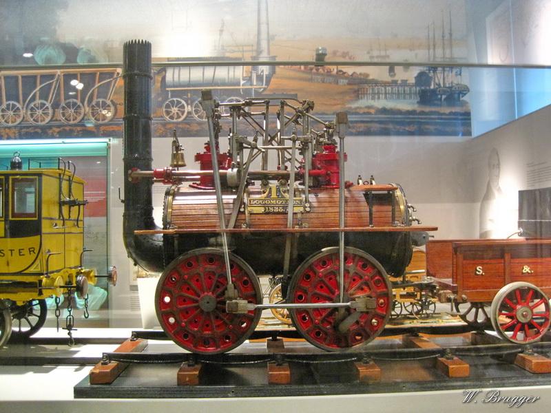 Lokomotive im  Verkehrsmuseum  Nürnberg