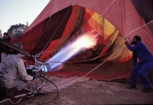 Südafrika Bill Harrop Heißluftballon Stichflamme 1