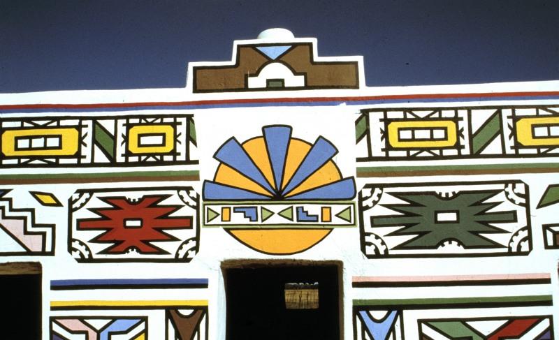 Südafrika Ndebele-Haus