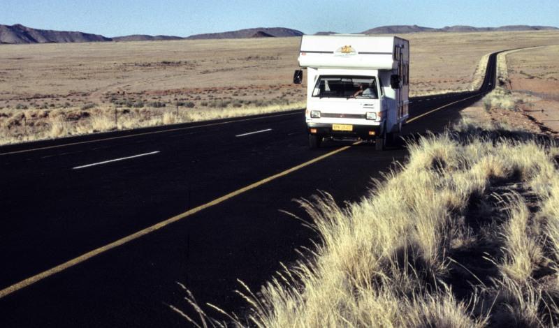 """Südafrika: Endlose Weite auf dem Weg zur """"Westcoast"""""""