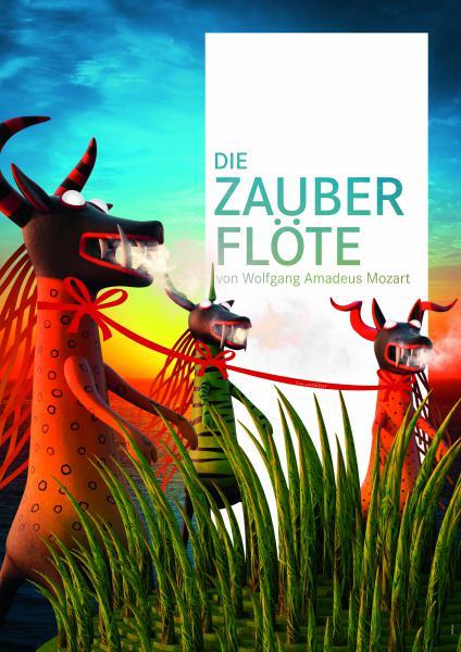"""Spiel auf dem See 2014 """"Die Zauberflöte"""" © Bregenzer Festspiele / die3.eu"""