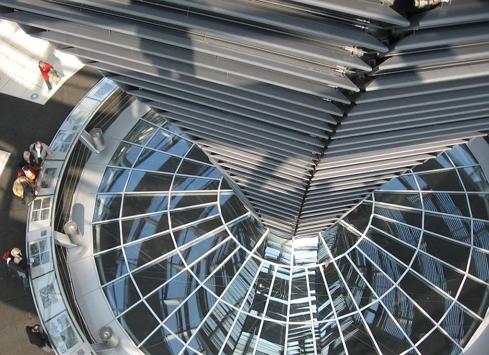 Berlin: Reichstagskuppel innen
