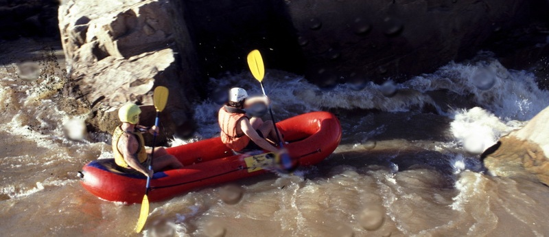 Swaziland Rafting im Great Usuthu River