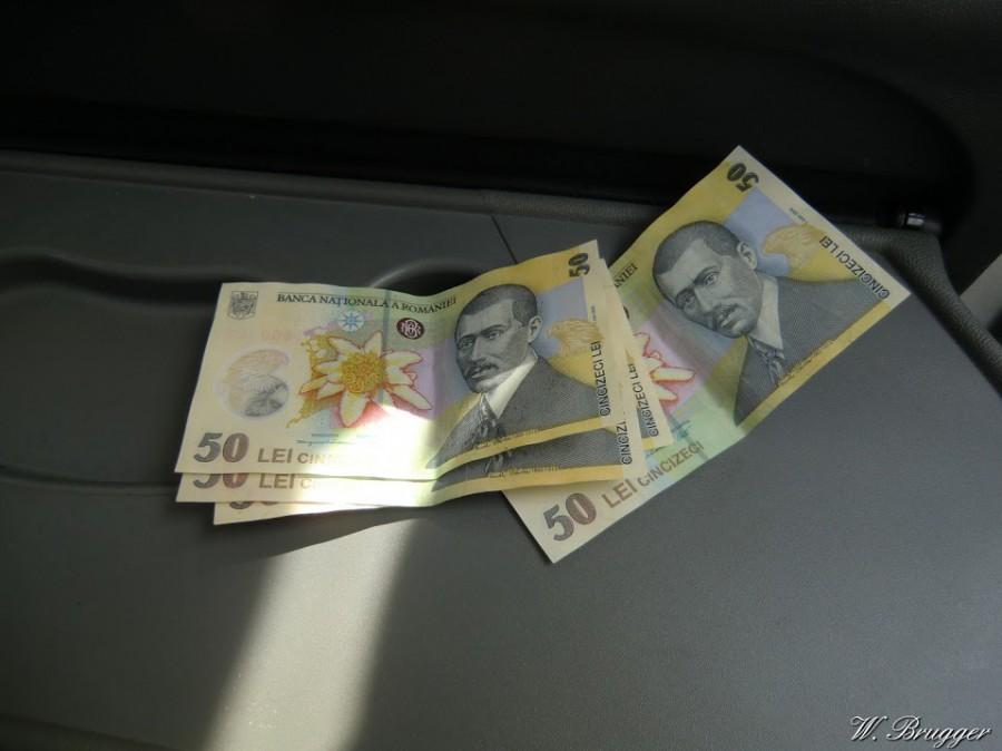Geldscheine Rumänien