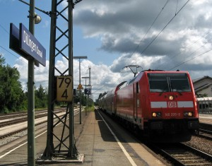 Bahnhof Dillingen Zug Fernweh IMG_1307