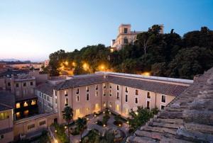 Hotel Donna Camilla Savelli: zentral und historisch übernachten im ehemaligen Kloster  Quelle: OLIMAR Reisen / olimar.com