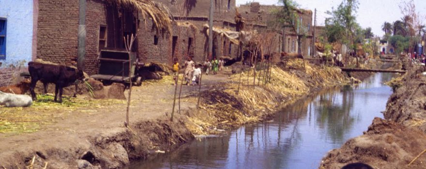 In einem Dorf in Ägypten 1983
