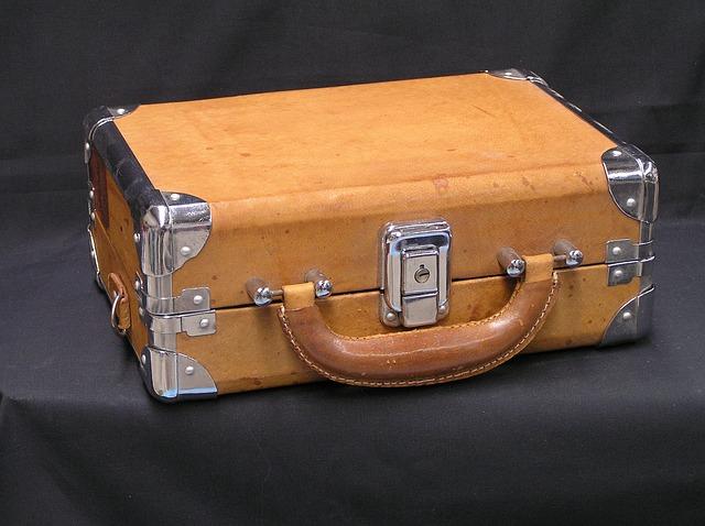 Koffer. PublicDomainPictures / Pixabay . Gefunden unter CC0 -Lizenz