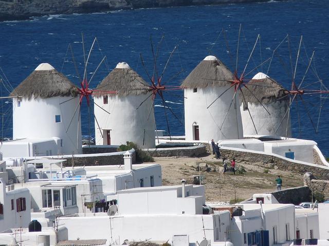 Mykonos, Griechenlandfalco / Pixabay. Gefunden unter CC0 -Lizenz