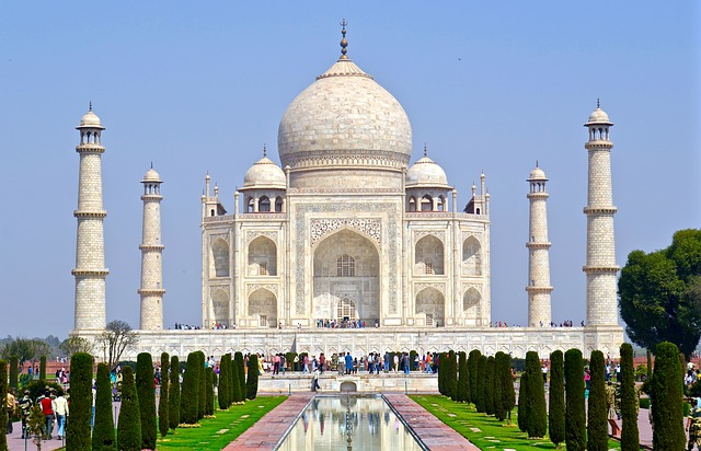 Taj MahalPhoto by wiganparky0 (Pixabay)