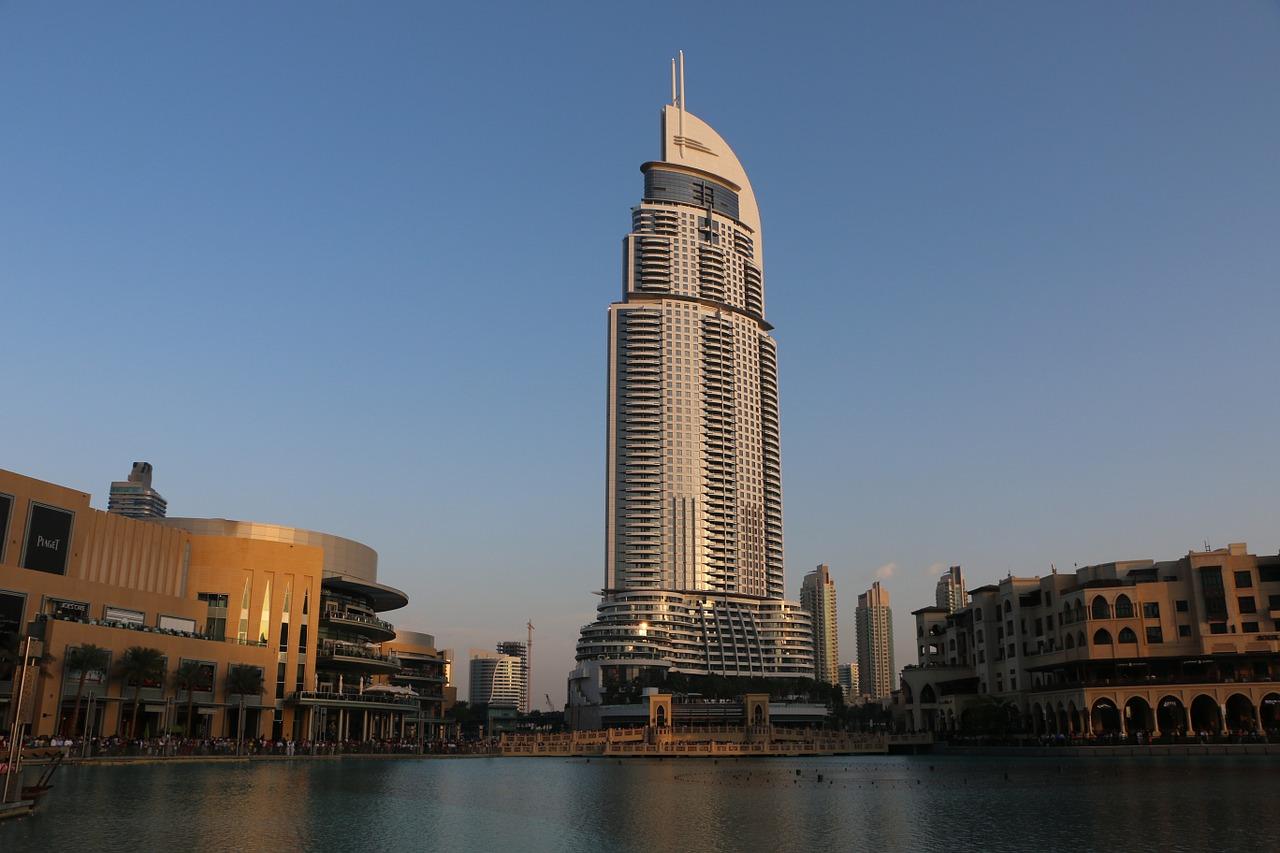 Dubai.  Photo by patrese (Pixabay)