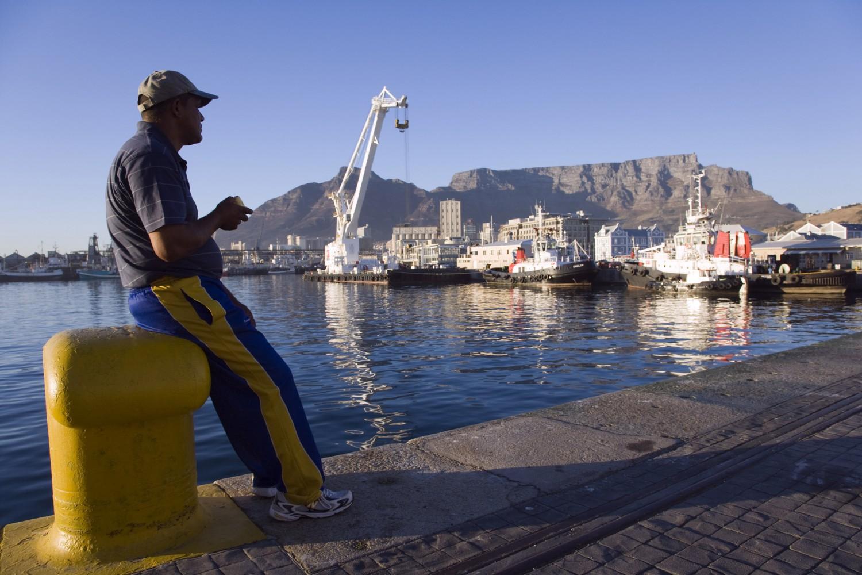 Kapstadt, Hafen mit Tafelberg. Bildquelle: South African Tourism