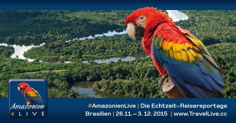 Amazonien Live: von Brasiliens Küste in den Urwald. Copyright Günter Exel