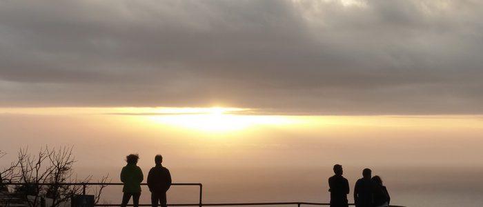 Chapman's Peak - Kapstadt, Südafrika: Sonnenuntergang über Hout Bay