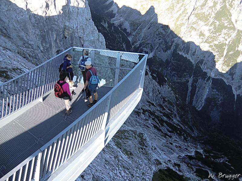 Skywalk AlpspiX, Wettersteingebirge, bei Garmisch-Partenkirchen