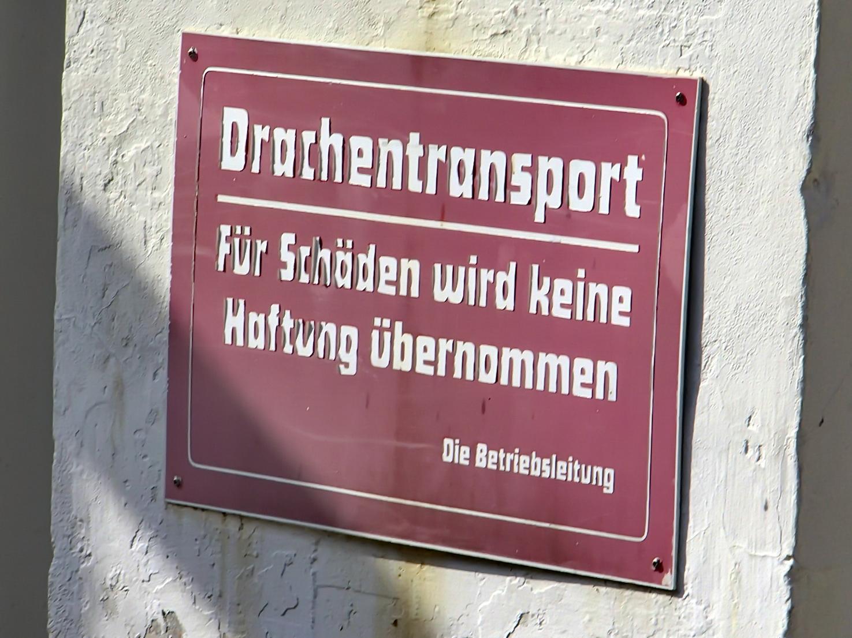Ruhpolding Drachentransport Rauschbergbahn