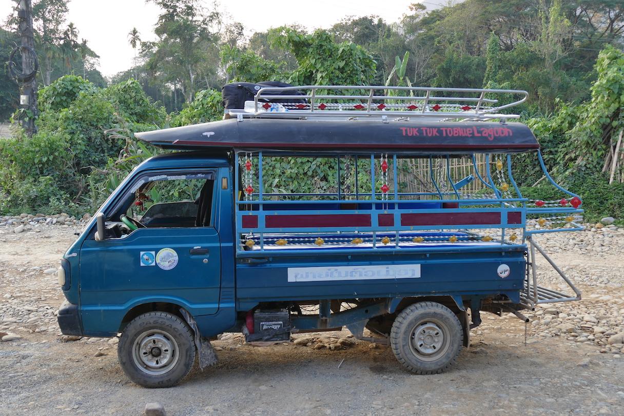Aua in Laos: Nächster Stopp Vang Vieng