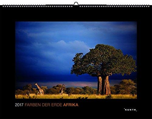 Wandkalender. 2017 Farben der Erde: Afrika
