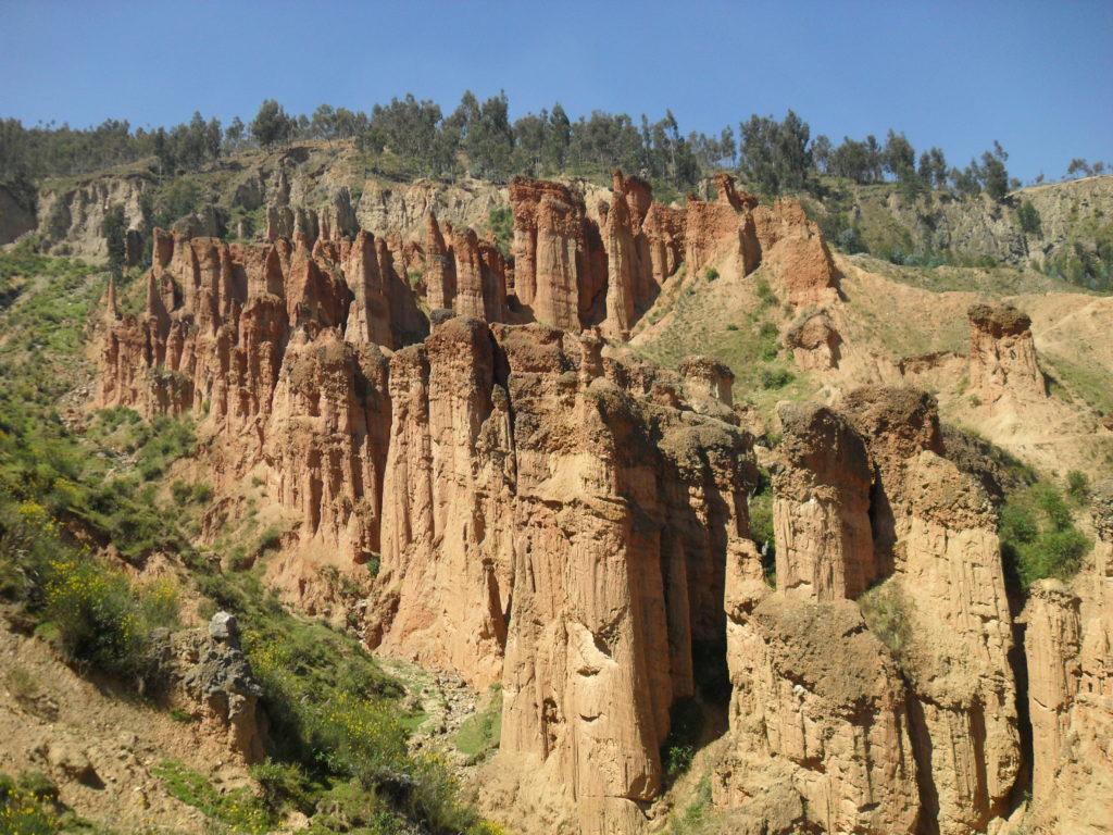 Peru: Der Canyon Torre Torre in Huancayo - Bild Copyright Paul von adventureluap.de