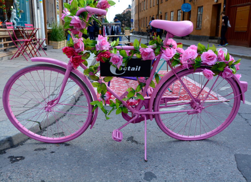 Stockholm, Schweden: Hipstermania in trendy Södermalm