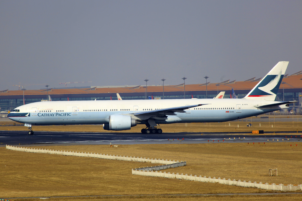 cathay pacific photo