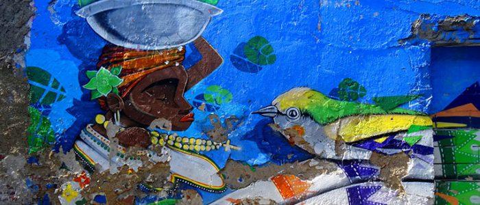 Streetart in Kolumbien, copyright Hanna vom Blog reisehappen.de