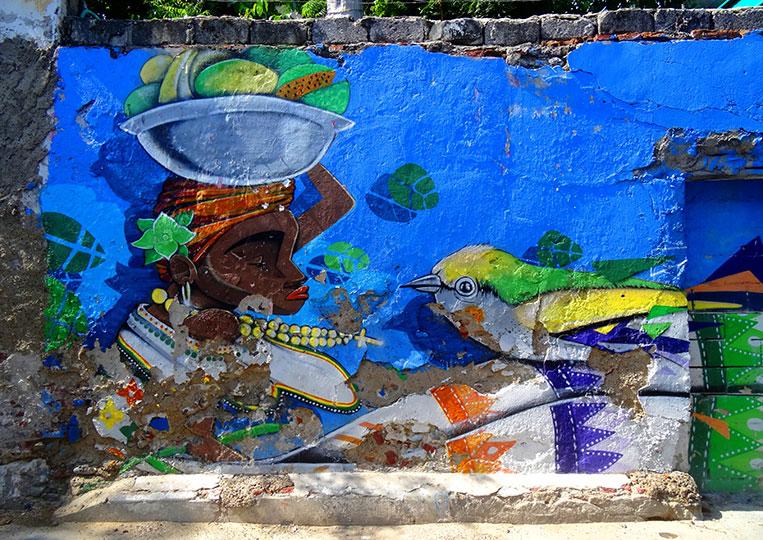 Kolumbien: Besuch Cartagena de Indias und die Isla Baru