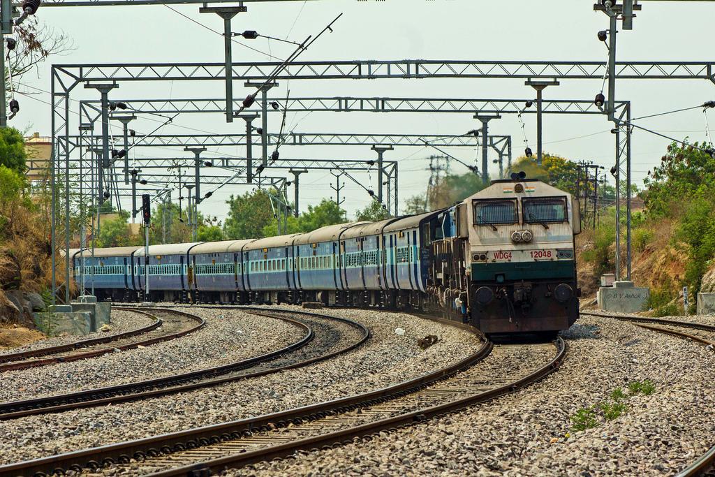 Indien in vollen Zügen genießen: 18 Stunden im Nachtzug