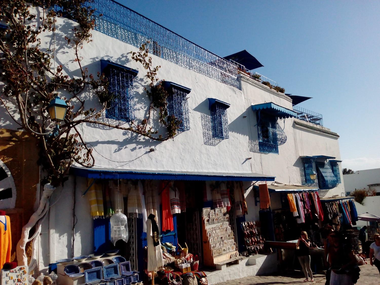 Sidi Bou Said, Künstlerdorf in Tunesien