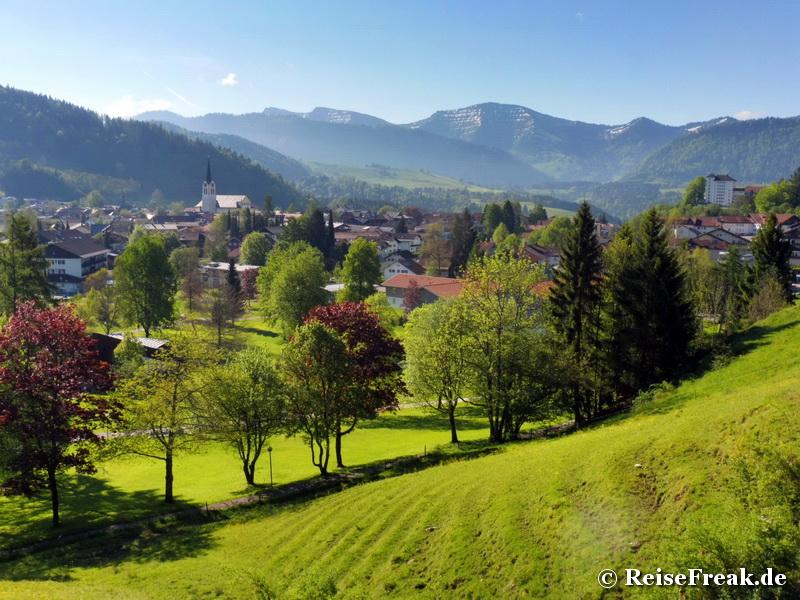 Reise-Fortbildung (1) in Oberstaufen: Zum Allgäuer in 3 Tagen