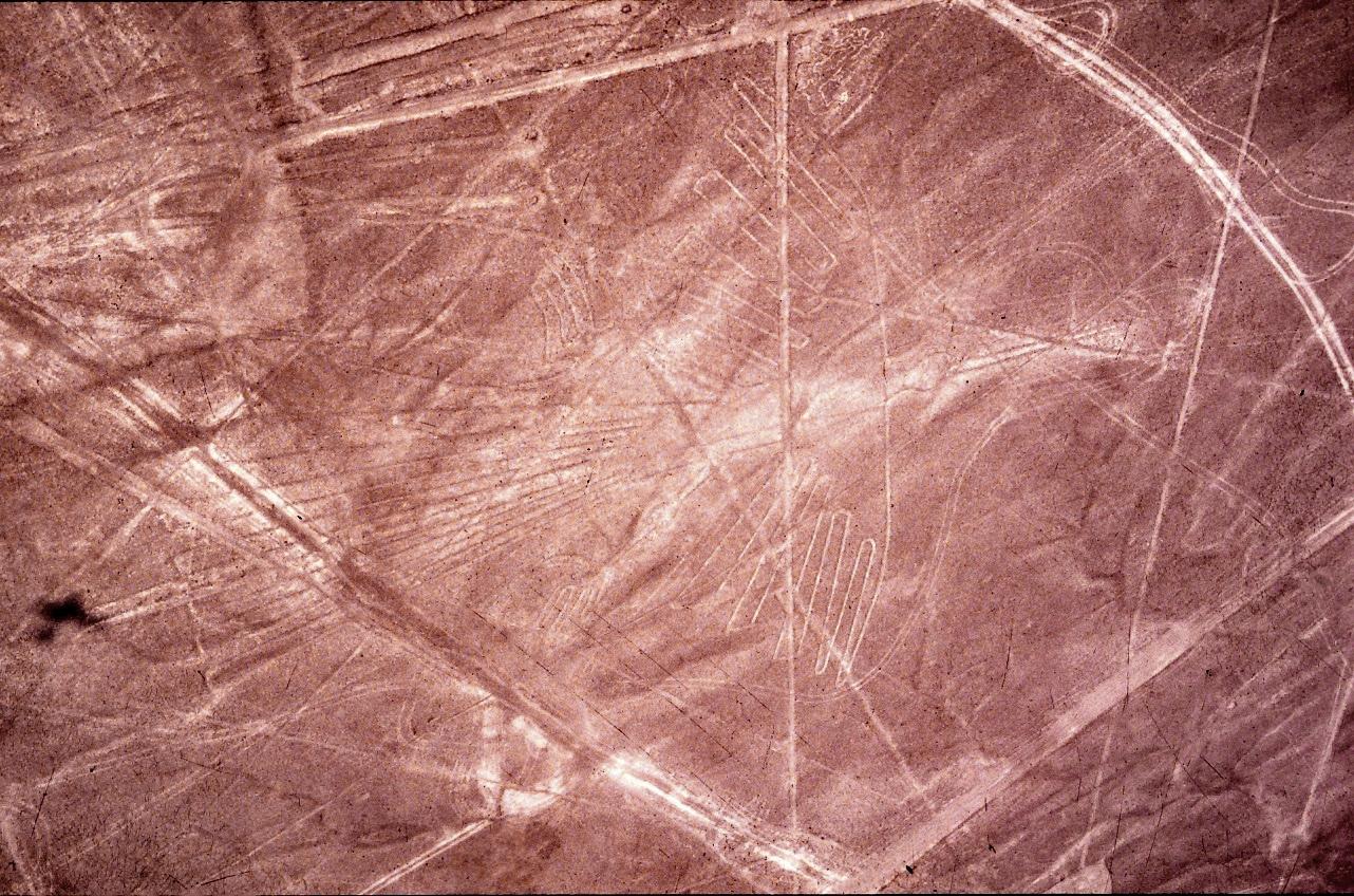Scharrbilder - Geoglyphen in Nazca, Peru