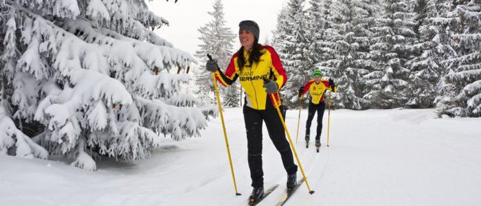 Rennsteig Skiwanderweg Fotograf: Udo Bernhardt, Bildrechte: Thüringer Tourismus GmbH