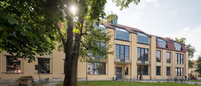 Weimar, Hauptgebäude Bauhaus-Universität Weimar. Fotograf Alexander-Burzik. Fotorechte Impulsregion