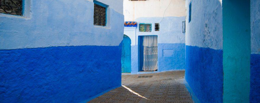 Chefchaouen, Marokko -Photo by Veronica Reverse on Unsplash