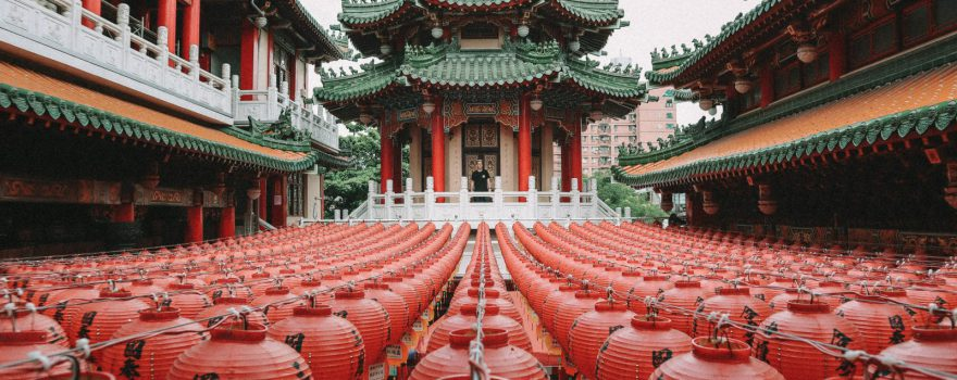 Taiwan Tempel. Photo by Dave Weatherall
