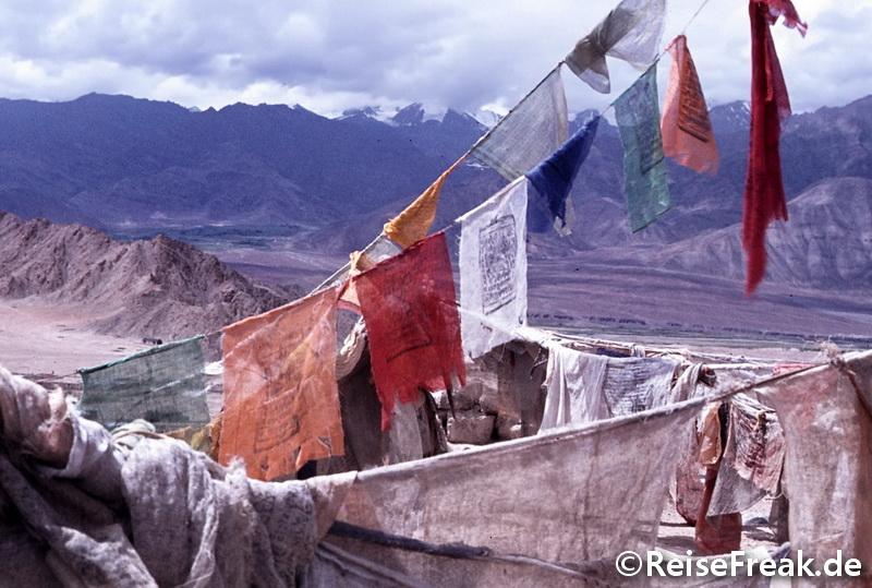 Indien 1982: Von Kaschmir in den Himalaya. Mondlandschaft Ladakh