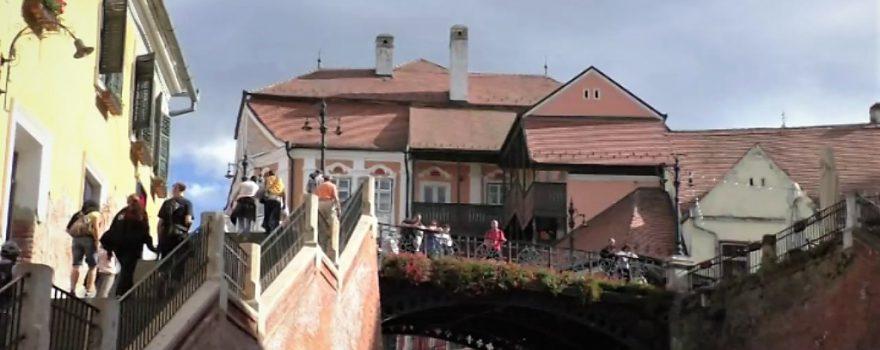 Rumänien - Hermannstadt - Lügenbrücke - Bild Ludwig Neudorfer
