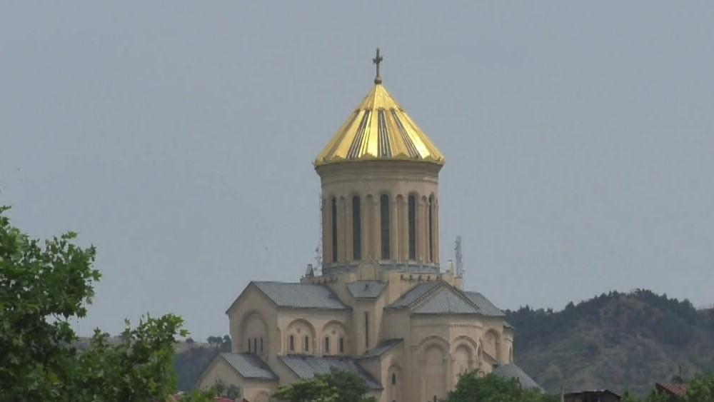 Georgien- Sameba-Kathedrale in Tiflis - Bild Ludwig Neudorfer