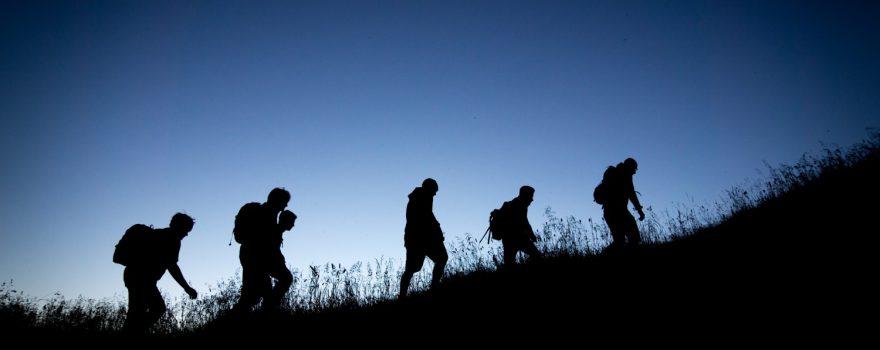Wandern - Foto von Tobias Mrzyk