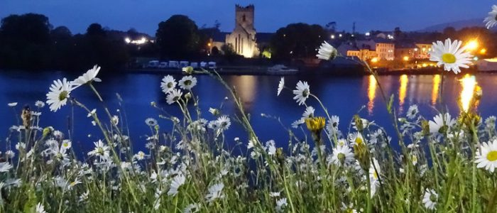 Killaloe, Irland, am Shannon-Fluss
