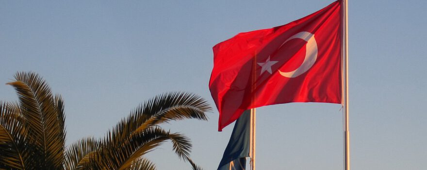 Urlaub Türkei Flagge