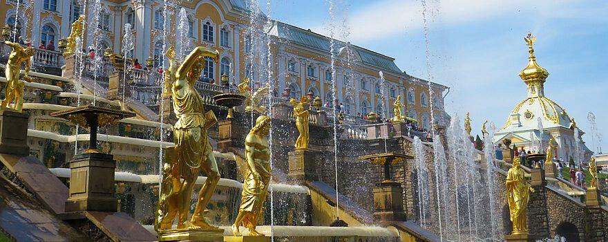 Peterhof, St. Petersburg, Foto Anastasiya Romanova bei Unsplash