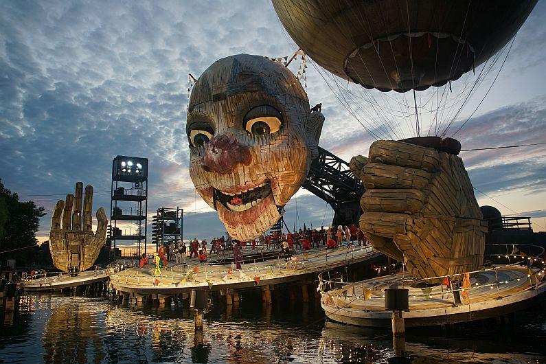 Rigoletto - Spiel auf dem See - © Bregenzer Festspiele - Karl Forster