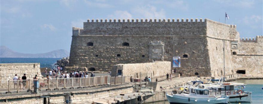 Hafenfestung im venezianischen Hafen in Heraklion (Foto: Ludwig Neudorfer)